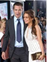 Chris Pine with Lindsay Lohan picture.JPG