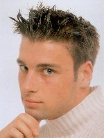 image of Men's Short Hair Style with extreme spikes
