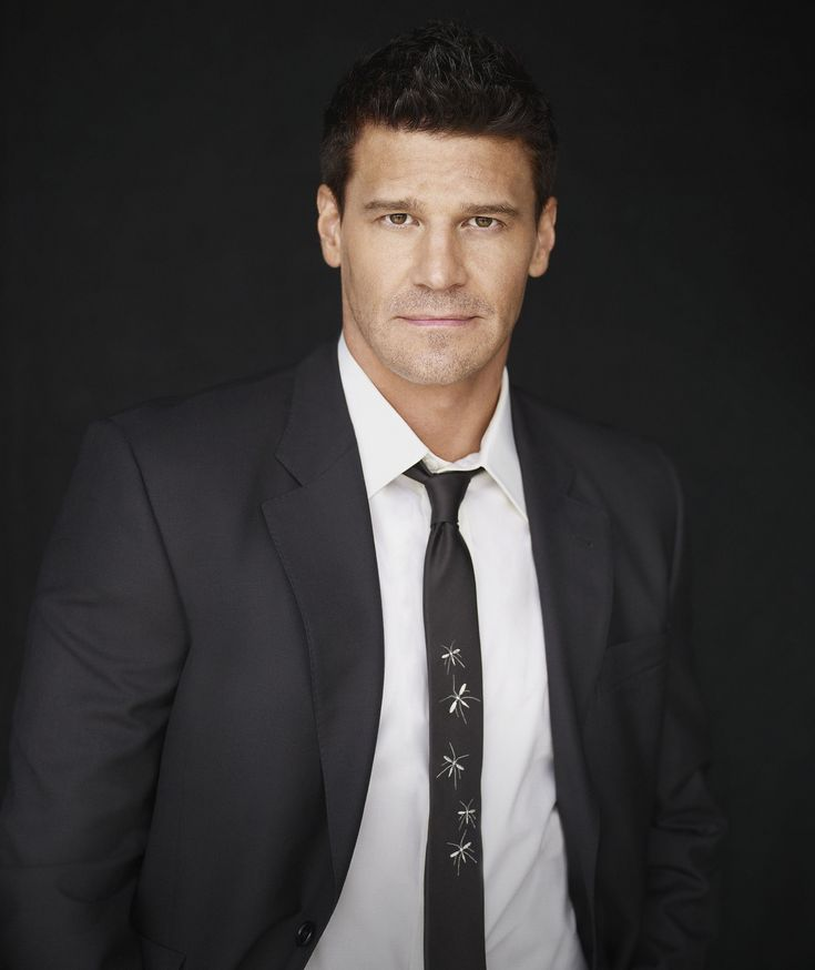 David Boreanaz with his short spiky hairstyle.JPG