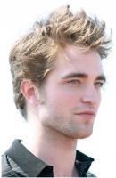 Robert Pattinson 2009 with his short spiky hairstyle.JPG