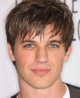 Layered men hairstyle picture with long bangs