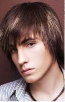 thin brown men hairstyle in medium with long bangs.JPG