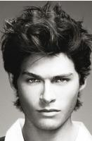 Wavy medium man hairstyle with hot top.JPG