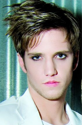 Funk hot men hairstyle with swept bangs.JPG