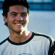 Young Sam Worthington actor with his short spiky hairstyle.PNG