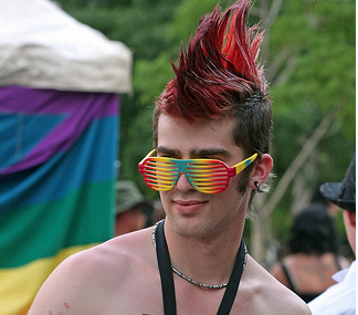 Mohawk men hairstyle with red color.PNG