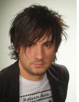 Sexy man hairstyle with full of layers and spikes to give the hot men messy look.PNG