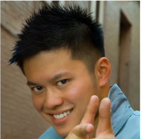 Asian man short hairstyle with full layers and spikes and side bang.PNG