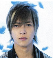 Layered asian man hairstyle with  medium length and long side bangs.PNG