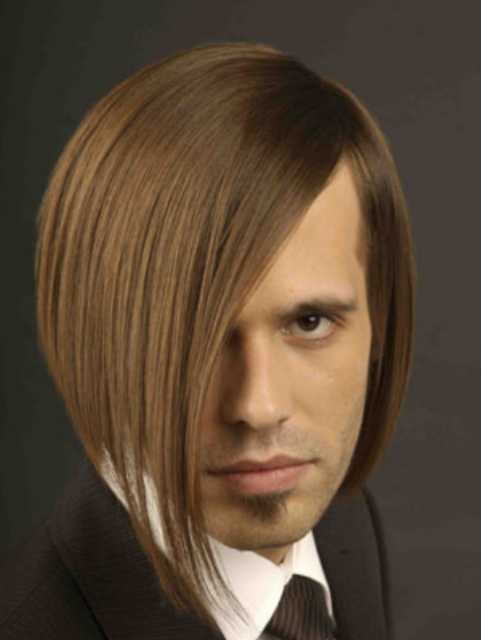 Male bob hairstyle picture with very long side bangs.PNG (1 comment)