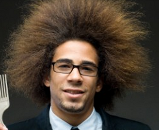 Wild Afro Hairstyles for Men
