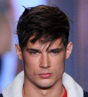 Pleasing Picture Of Stylish Men Hairstyle With Long Swept Bang Png 2 Comments Natural Hairstyles Runnerswayorg
