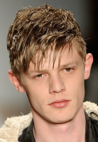 Young men short hairstyle with long layered bangs.PNG