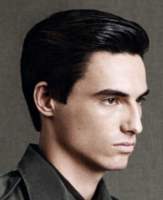 Classic short men hairstyle image
