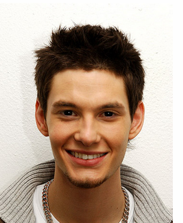 Young Ben Barnes with his short haircut picture.PNG