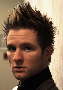 extreme spiky men hairstyle 1 comment