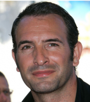 French sexy actor photos of Jean Dujardin with his short haircut.PNG