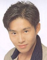 Asian man Short hair style, black