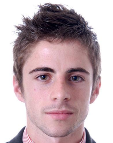 Young men spiky hairstyle with long spiky bangs PNG 1